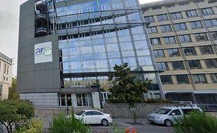 Siège de l'agence régionale de santé (ARS) du Grand-Est, à Nancy.