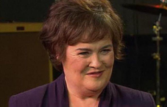 """La chanteuse Susan Boyle, lors de l'émission de MSNBC """"The Today show"""", diffusée le 22 juillet 2009."""