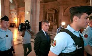 Jérôme Cahuzac, à son arrivée au tribunal.