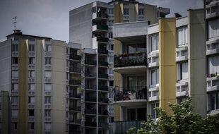 Des immeubles à Bobigny, en banlieue parisienne.