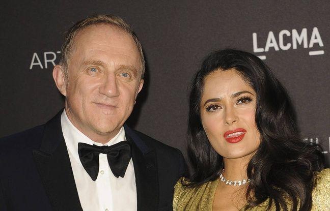 Festival de Cannes: Salma Hayek ne participera pas à la remise d'une Palme d'or d'honneur à Alain Delon