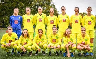 L'équipe féminine du FC Nantes.