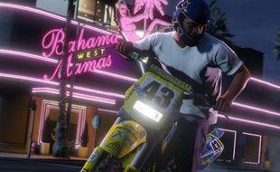Le jeu vidéo «Grand Theft Auto V», de Rockstar Games.