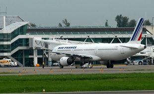 L'accrochage entre les deux avions n'a heureusement fait aucun blessé. (Illustration)