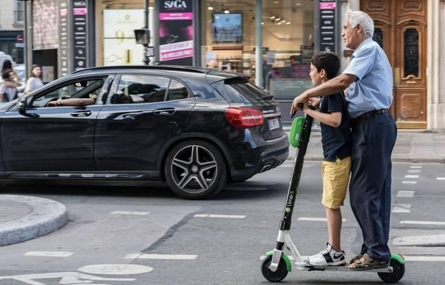 Lyon: Des formations de trottinettes électriques proposées par des auto-écoles