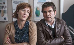 Valeria Bruni-Tedeschi et Romain Goupil dans Les jours venus