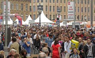 Edition 2014 de la grande braderie de Lille.