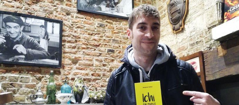 Benjamin Valliet, auteur de «Ichi, on parle comme cha».