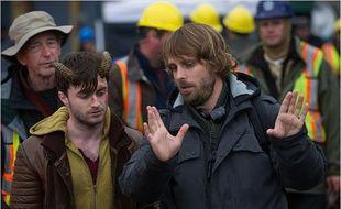 Alexanfre Aja et Daniel Radcliffe pour Horns