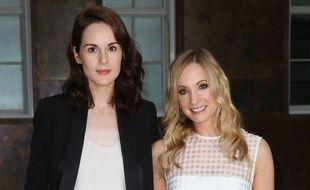 Les actrices Michelle Dockery et Joanne Frogatt