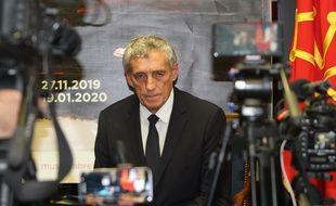 Philippe Saurel, lors de la conférence de presse donnée vendredi pour annoncer son opération imminente.