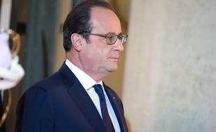 François Hollande à l'Elysée le 28 novembre 2015.