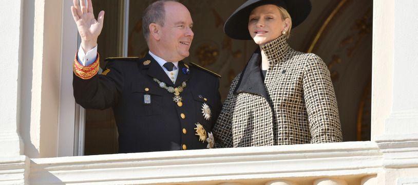 Le prince Albert II et la princesse Charlene