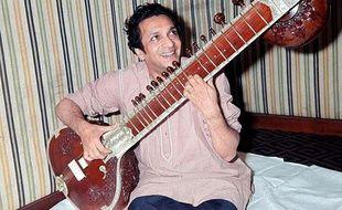 Le musicien indien Ravi Shankar, en 1966.