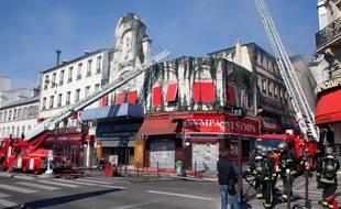L'Elysée-Montmartre avait été ravagée par un incendie le 22 mars 2011.