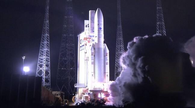 Ariane 5 : La France lance un satellite militaire de télécommunications dernière génération