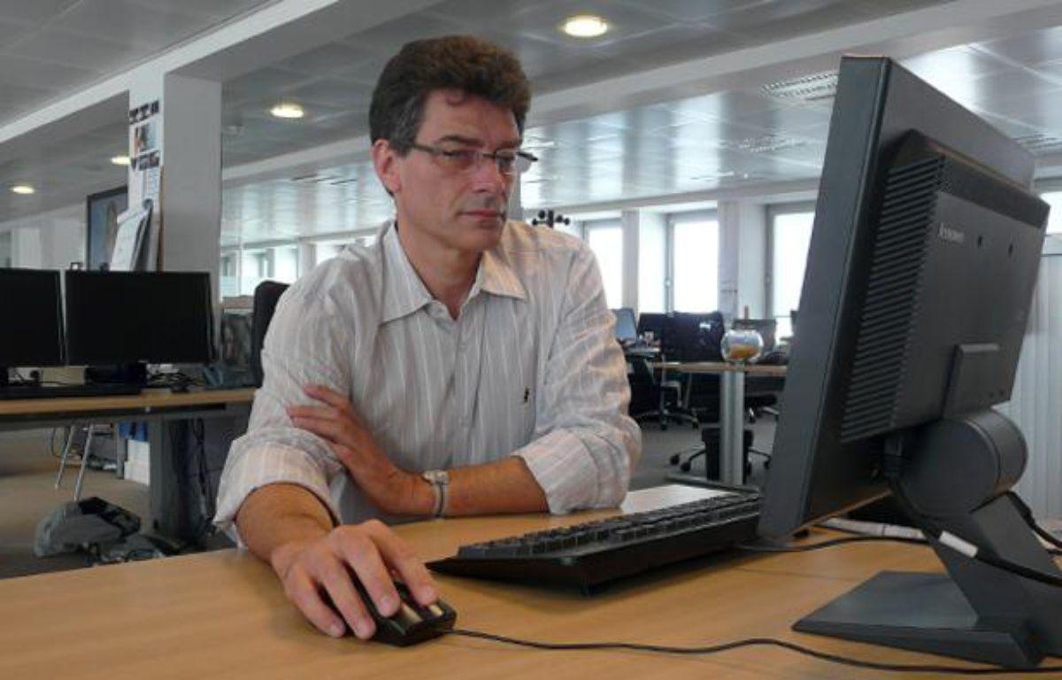 Pascal Durand, secrétaire général d'Europe Ecologie-Les Verts – G. LABARTHE / 20 MINUTES