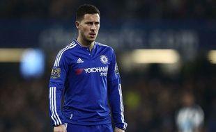 Eden Hazard lors du match entre Chelsea et Newcastle le 13 février 2016.