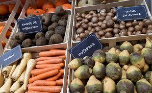 Des légumes présentés au Salon de l'Agriculture (illustration).