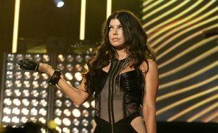 """Stacy """"Fergie"""" Ferguson au 43ème festival de Montreux, en Suisse, le 6 juillet 2009."""