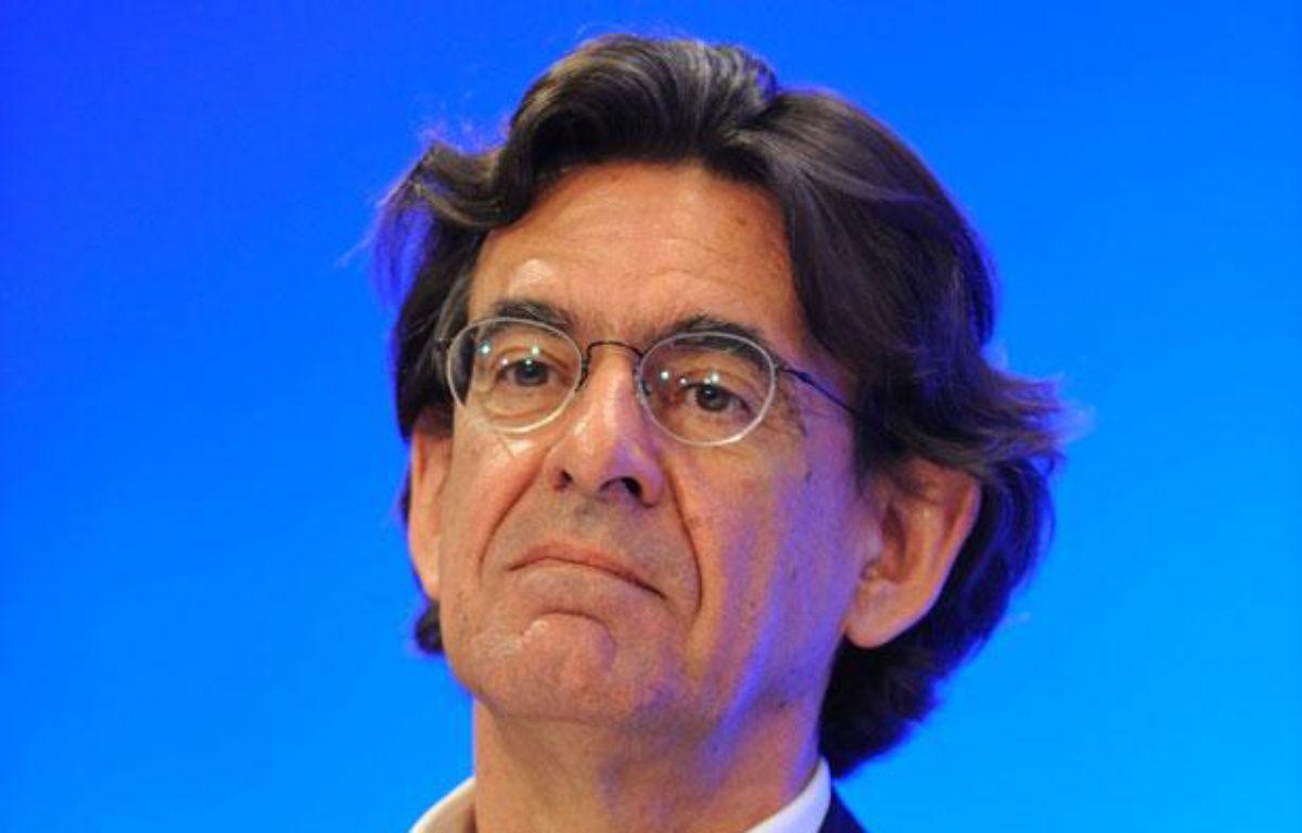 Luc Ferry à un séminaire à Paris, en mai 2011. – WITT/SIPA