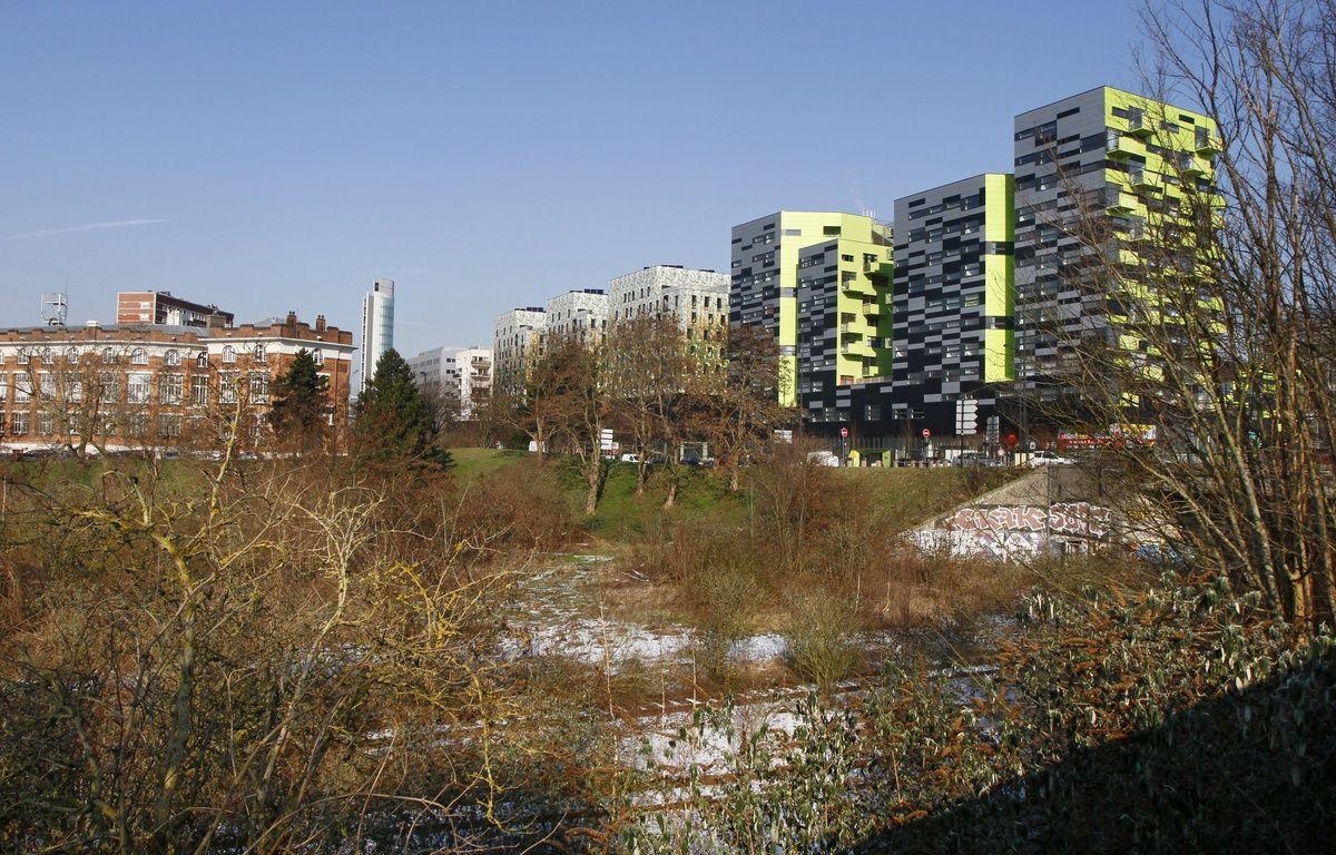 Lille, le 6 féŽvrier 2012. La friche Saint-Sauveur, à Lille, appartenait alors à La SNCF. – M.LIBERT/20 MINUTES