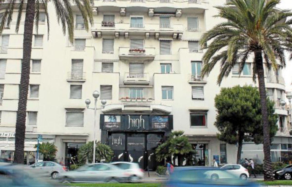 Le High club, la plus importante discothèque de Nice, située sur la promenade des Anglais, est visé par l'association. –  A. SELVI / ANP
