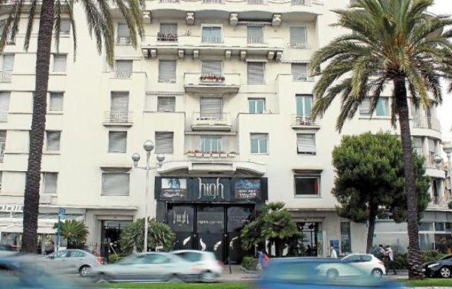Le High club, la plus importante discothèque de Nice, située sur la promenade des Anglais, est visé par l'association.
