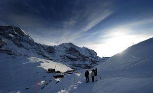 Une vue des Alpes suisses