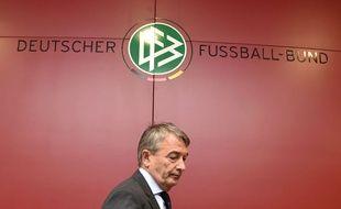 L'actuel président de la fédération allemande Wolfgang Niersbach