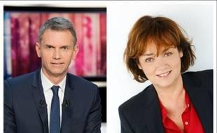 Christophe Jakubyszyn et Nathalie Saint-Cricq animeront le débat d'entre-deux-tours de la présidentielle