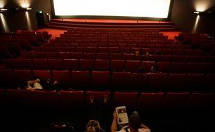 Illustration d'une salle de cinéma.