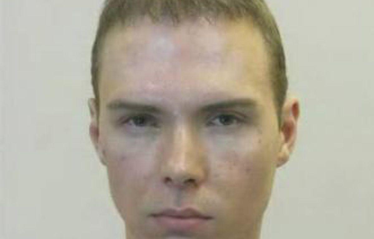 Luka Rocco Magnotta après son arrestation, le 4 juin 2012 à Berlin. – REUTERS/Police de Berlin