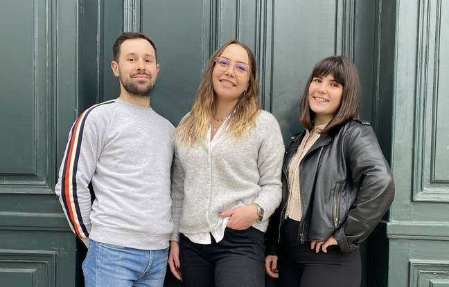 Clément Léonard, Léa Lajaunias et Clémence Camby ont crée ensemble Fullbus.