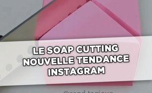 Le Soap cutting, la nouvelle tendance Instagram et ASMR