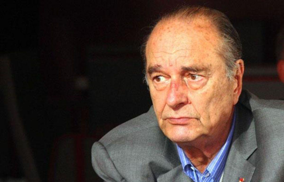 L'ancien président Jacques Chirac, à Saint-Tropez, le 7 août 2011. – ARSOV/SIPA/