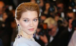 Lea Seydoux poses for photographers upon arrival for the screening of the film The Lobster at the 68th international film festival, Cannes, southern France, Friday, May 15, 2015. (Photo by Joel Ryan/Invision/AP)/ICAN116/154752756641/051315111343/1505152239