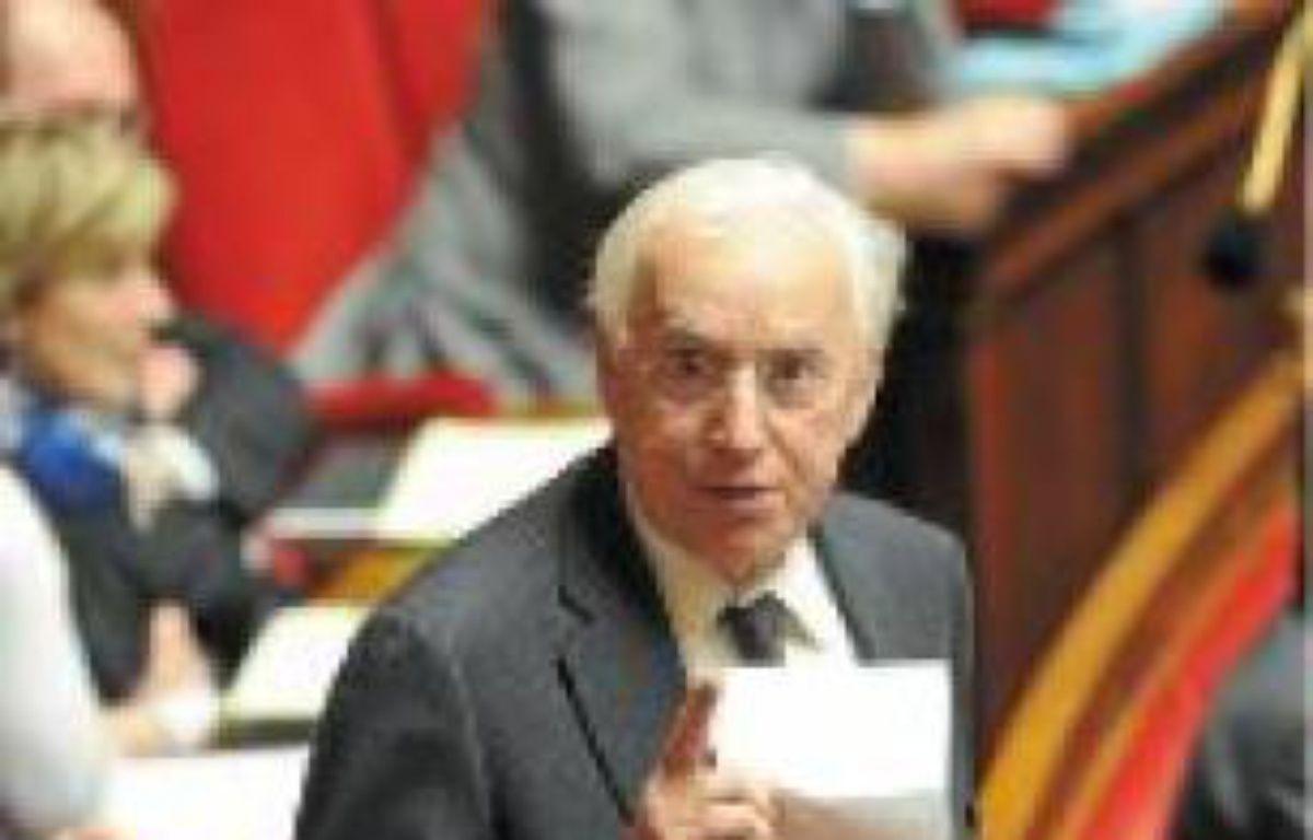 Pierre Méhaignerie (à gauche) est le député le plus assidu, Marcel Rogemont le plus bavard. –  C. ALLAIN  / APEI / 20 MINUTESWITT / SIPA