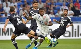 L'ancien milieu angevin Jeff Reine-Adélaïde a effectué ses débuts avec l'OL samedi contre Bordeaux (1-1). ROMAIN LAFABREGUE