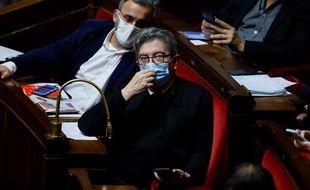 Jean-Luc Mélenchon, le 8 décembre 2020.