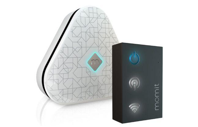 A accrocher à son climatiseur, ce petit boîtier permet d'en prendre le contrôle depuis son smartphone.