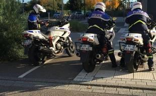Des policiers lors d'une opération « anti-rodéo ». (Illustration)