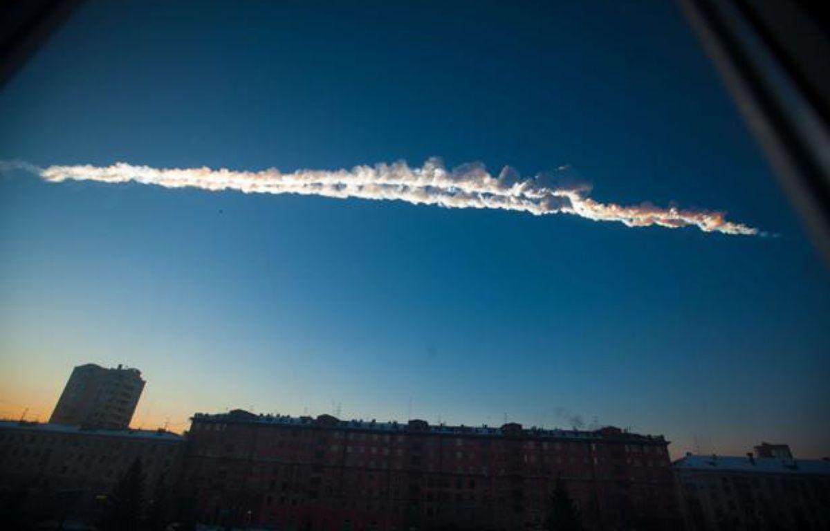 Une météorite a traversé le ciel russe, le 15 février 2013 – Graeme Whipps / Rex Fea/REX/SIPA