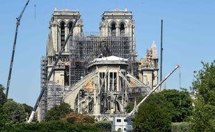 Notre-Dame de Paris, le 9 juillet 2019.