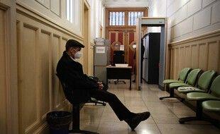 L'ancien chef du groupe séparatiste basque ETA, Josu Ternera, en attente de son procès au palais de justice de Paris, le 19 octobre 2020.