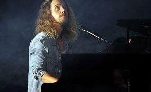 Julien Doré aux Victoires de la Musique, le 10 février 2017.