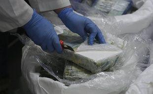 Une saisie de cocaïne. (Illustration)