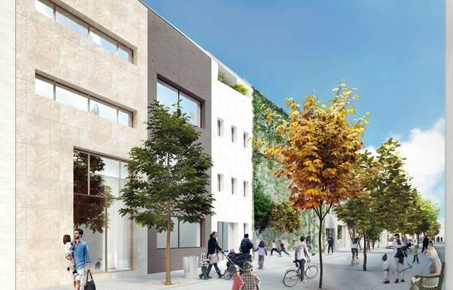 L'architecture du futur quartier Bastide Niel aura à se fondre dans un patrimoine existant