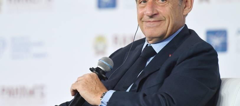 Nicolas Sarkozy le 16 janvier 2020.