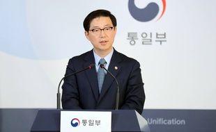 Le vice-ministre sud-coréen de l'Unification, Chun Hae-sung, a annoncé que son pays restait au bureau de liaison.